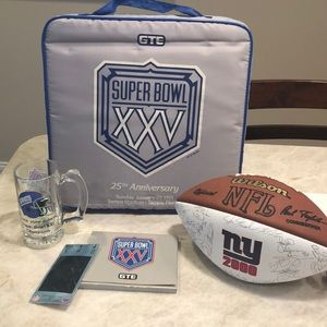 Giants Super Bowl XXV Gear!